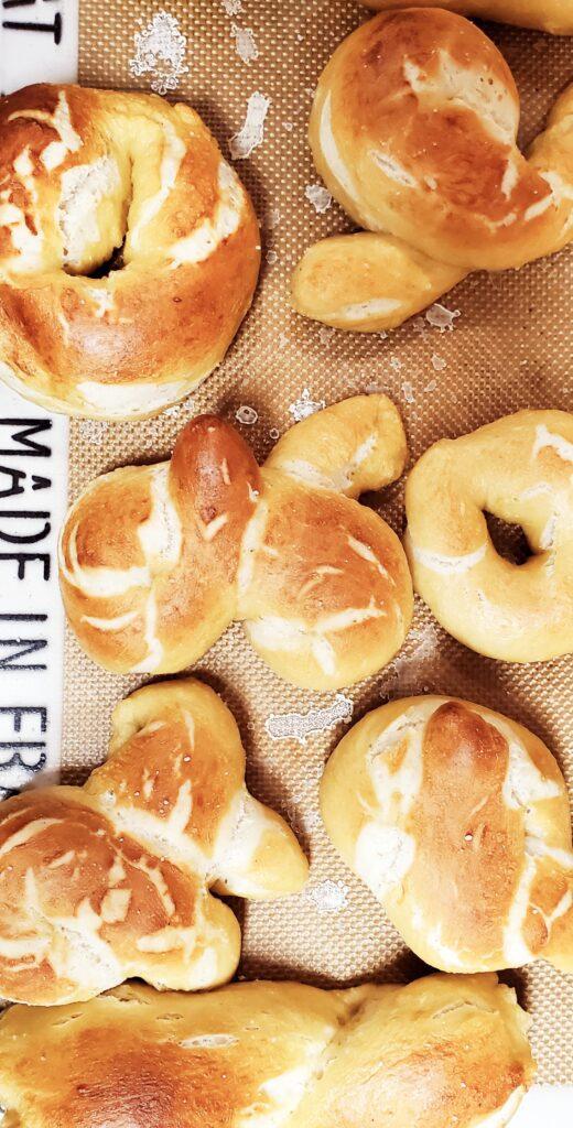 home made pretzels